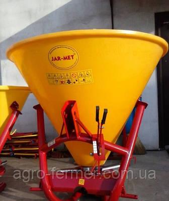 Рассеиватель минеральных удобрений 500 кг. Jar-met (садовый)
