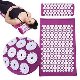 Ортопедичний килимок 65×41 см Acupressure Mat масажний килимок