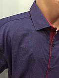 Чоловіча сорочка батал на кнопках 3XL, фото 2