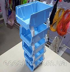 01-Пластиковая тара (контейнер) для упаковки и склада 50х10см