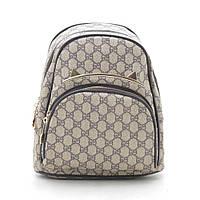 Рюкзак женский серо коричневый 178361, фото 1