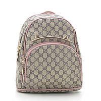 Рюкзак женский серый с розовым 178369, фото 1