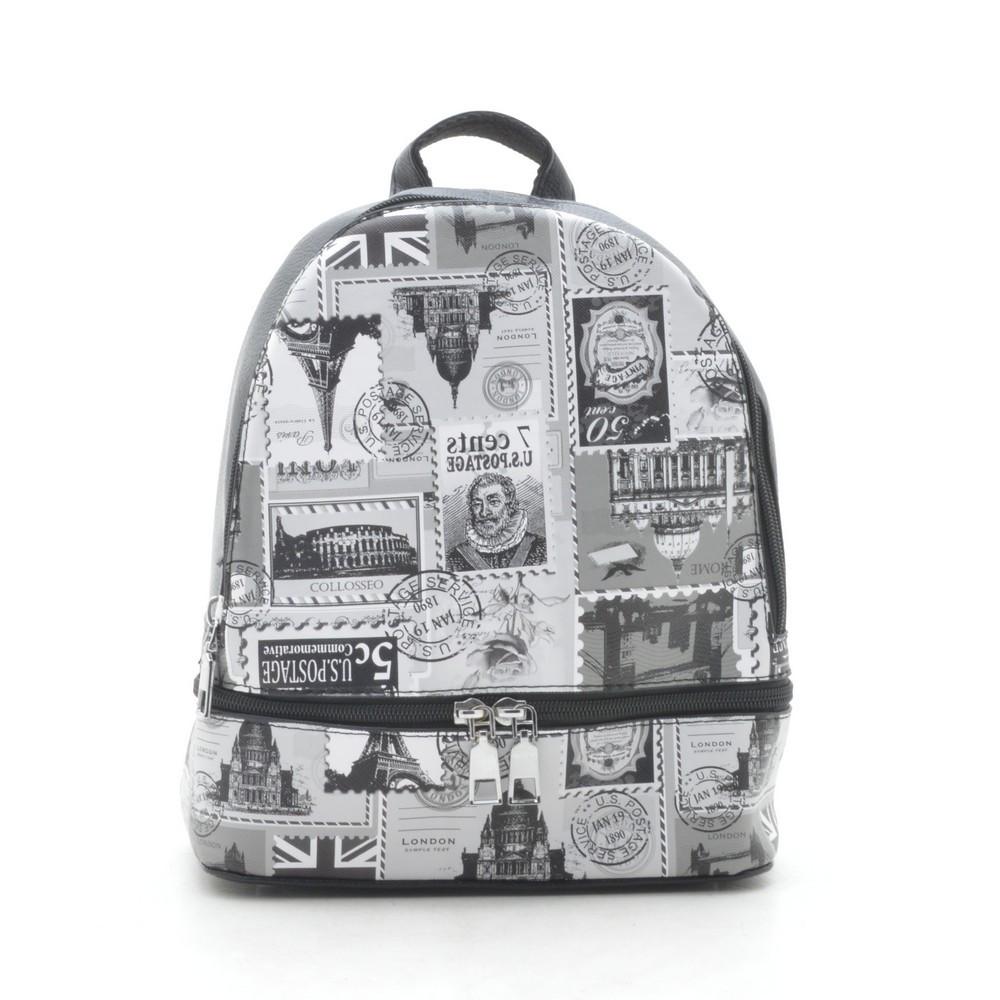 Рюкзак с принтом Марки 178259
