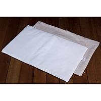 Подушка льняная в кроватку (ткань хлопок) размер 35х55 см., кремовая
