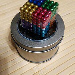 Неокуб (NeoCube) в боксе Silver 216 шариков цветной