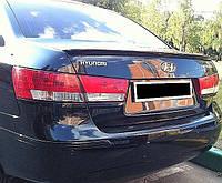 Спойлер крышки багажника Hyundai Sonata (NF) 2004-2010г ABS
