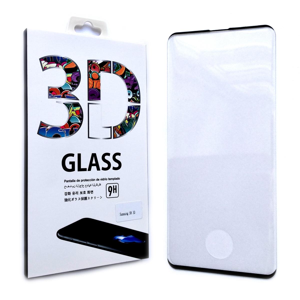 Защитное стекло 3D для Samsung Galaxy S10 G973 2019 (Black)