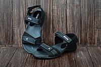 Сандали мужские кожаные Ecco (сандалі чоловічі). Топ качество. Реплика класса люкс, фото 1