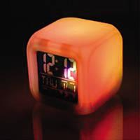 Часы будильник цветные Радуга