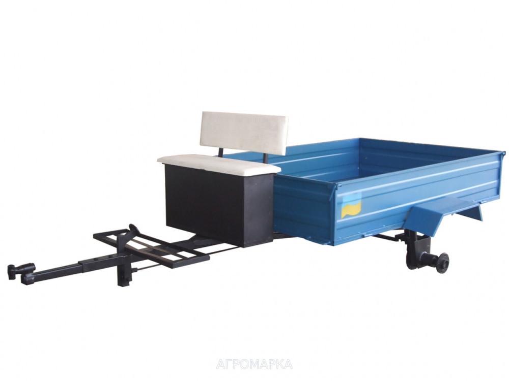 Прицеп-самосвал с дисковыми тормозами под жигулевскую универсальную ступицу (1050 х 1350 мм)