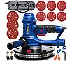 Шлифовальная машина для стен POWERMAT PM-DG-1400L - LED