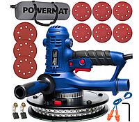 Шлифовальная машина для стен POWERMAT PM-DG-1400L - LED, фото 1