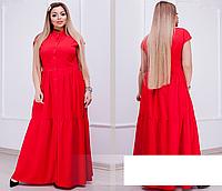 Сукня-сорочка довга на гудзиках, з 50-64 розмір, фото 1
