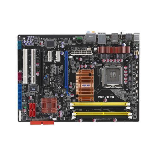 "Материнская плата Asus P5K/EPU Socket 775 DDR2 ""Over-Stock"" Б/У"