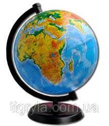 Глобус географический - укр., фото 2