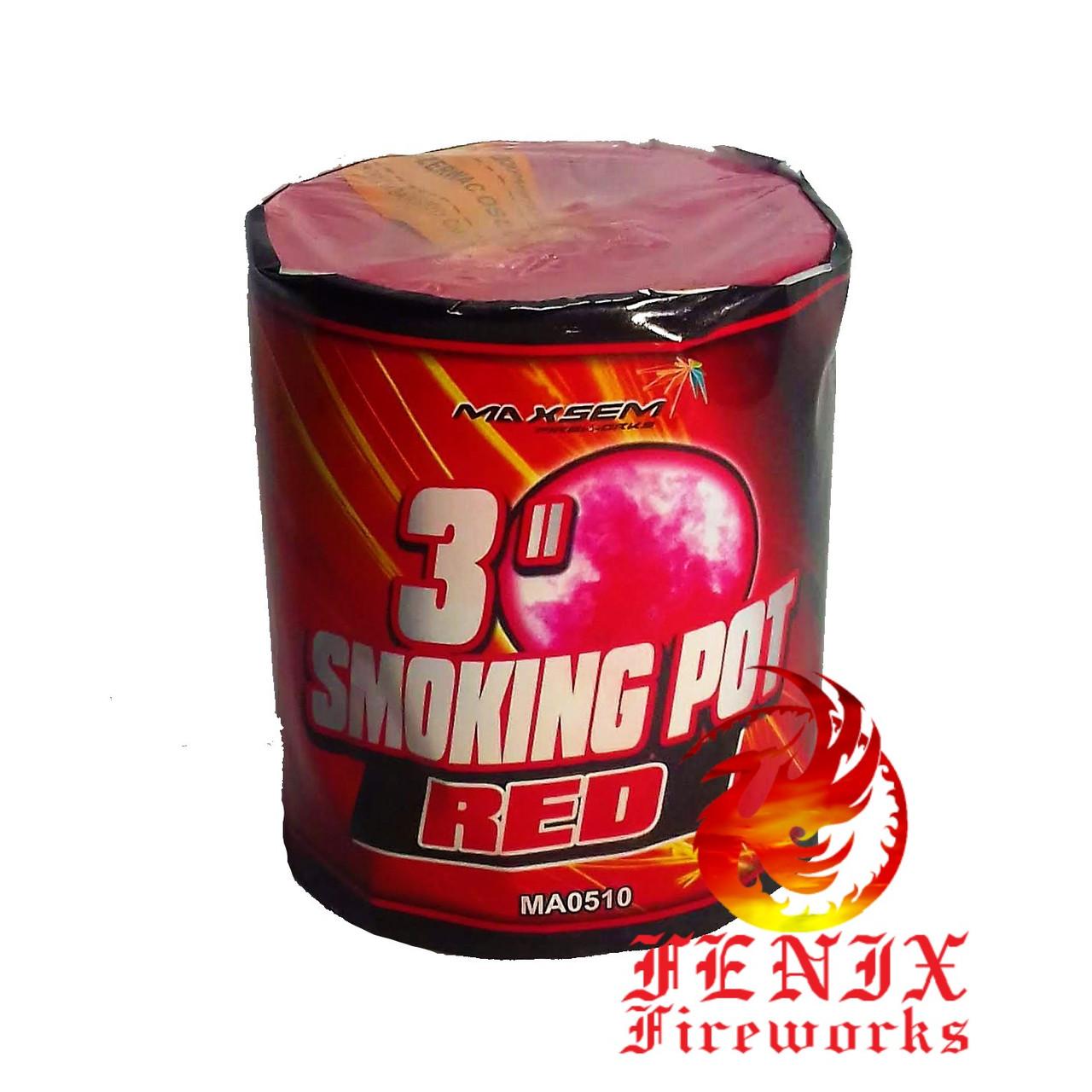 ЦВЕТНОЙ ДЫМ КРАСНЫЙ ПРОФЕССИОНАЛЬНЫЙ Smoke Pot 60секунд MA0510/R