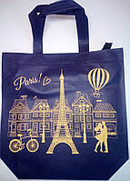 "Еко сумка standart ""Paris"" з замком, ручка 400мм  385х320х120*25"