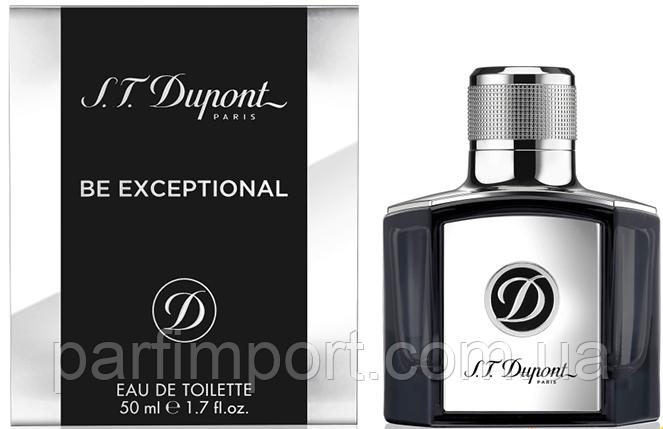DUPONT BE EXCEPTIONAL EDT 50 ml  туалетная вода мужская (оригинал подлинник  Франция)