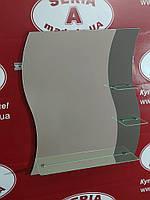 Зеркало на три полки волнистое №40 (м) /Дюбель 6х40 в Подарок