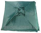 Торговый зонт 2х2 м с серебряным напылением и клапаном, фото 2