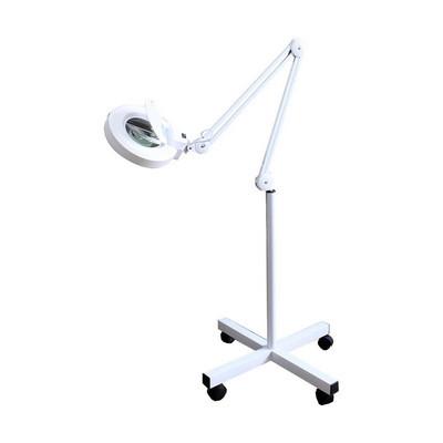 Лампа-лупа напольная передвижная