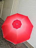 Зонт пляжный с наклоном и клапаном (брезентовый) 1,55м, фото 7