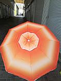 Зонт пляжный с наклоном и клапаном (брезентовый) 1,55м, фото 8