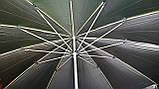 Зонт торговый 3,5м (12 пластиковых спиц)с серебренным напылением, фото 2