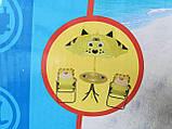 Набор мебели для пикника детский: столик с зонтом и 2 стула, фото 5