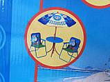 Набор мебели для пикника детский: столик с зонтом и 2 стула, фото 8