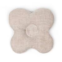 Ортпедическая подушка- грелка (бабочка) размер 20х20 см., Серая