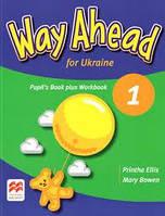 Учебник и рабочая тетрадь Way Ahead for Ukraine 1 Pupil's Book plus Workbook