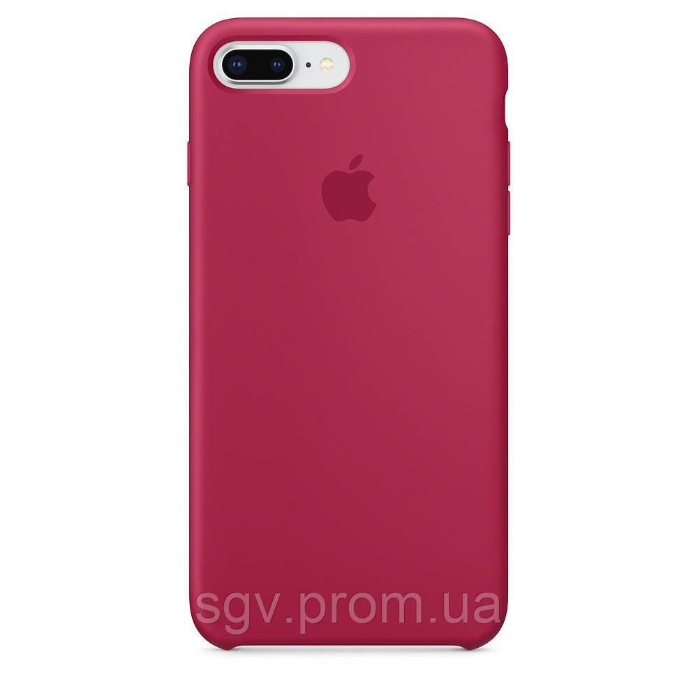 Силиконовый чехол для iPhone 7/8 plus, цвет «красная роза»