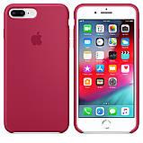 Силиконовый чехол для iPhone 7/8 plus, цвет «красная роза», фото 2