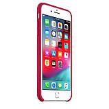 Силиконовый чехол для iPhone 7/8 plus, цвет «красная роза», фото 3