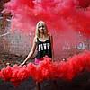 ЦВЕТНОЙ ДЫМ КРАСНЫЙ (Ручная дымовая шашка) Smoke Bombs 60секунд MA0512/R, фото 3