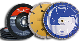 Абразивні і алмазні диски Makita