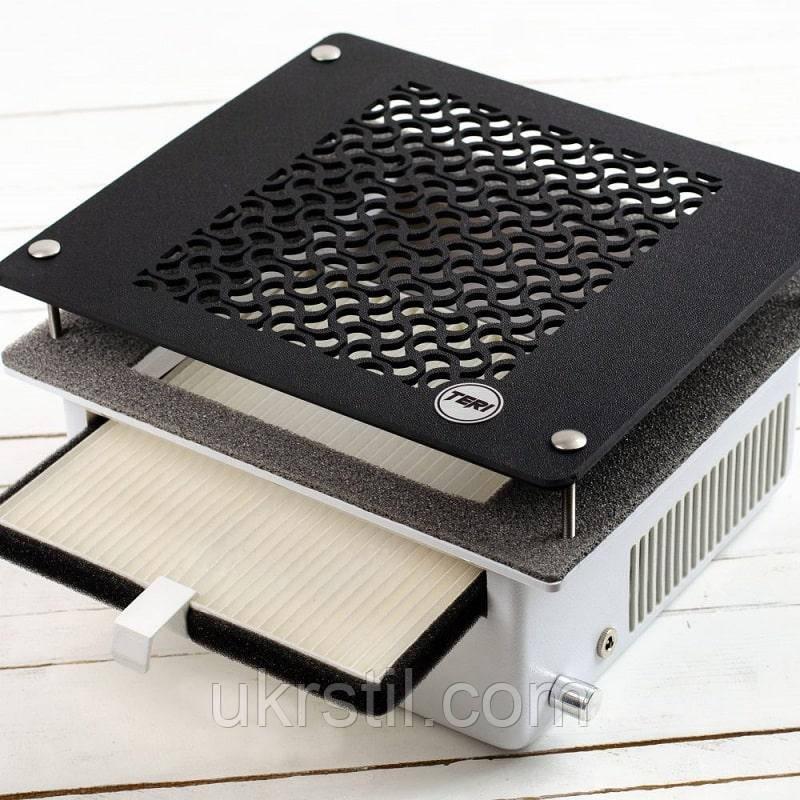 Инновационная врезная маникюрная вытяжка пылесос с HEPA фильтром Teri 500