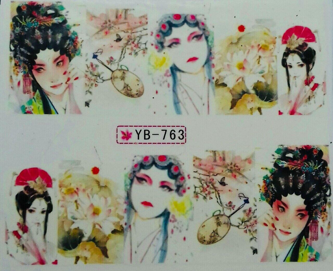 Слайд для дизайна ногтей YD-763