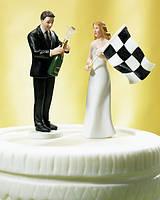 Фигурки на свадебный торт (арт. 1032)