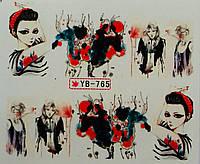 Слайд для дизайна ногтей YD-765