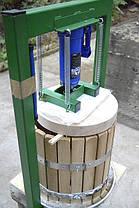 Гидравлический пресс для сока 15 л с Новым домкратом 3 тонн, фото 3