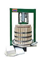 Пресс для сока 35 л с домкратом, давление 10 тон, гидравлический. Для яблок, винограда, сыра, фото 3