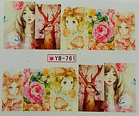 Слайд для дизайна ногтей YD-761