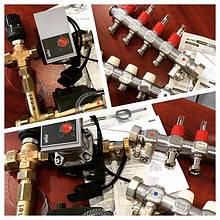 Комплект гидравлического теплого пола KERMI Xnet от интернет-магазина теплоДом.укр 098 0 388 388