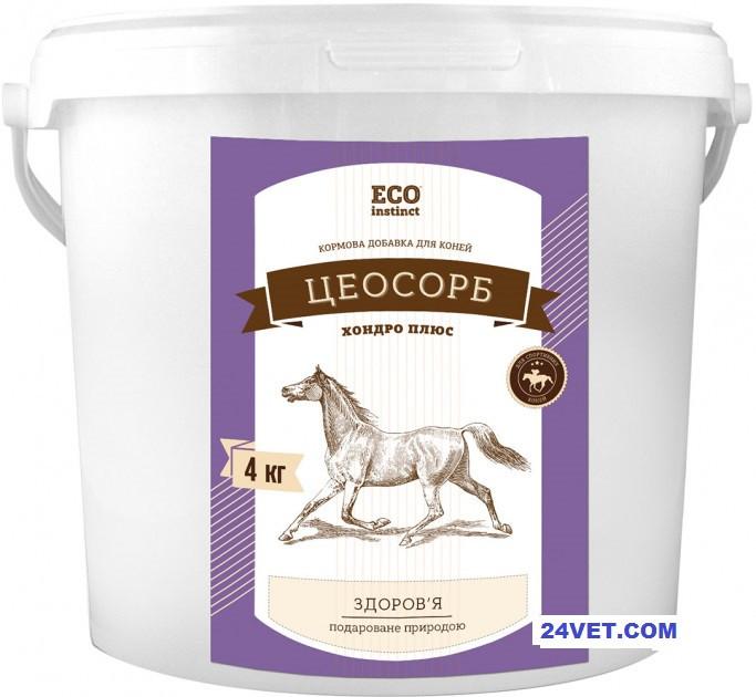 ЦЕОСОРБ ХОНДРО ПЛЮС восстановление суставов, сухожилий, хрящей для лошадей и собак, 5 кг