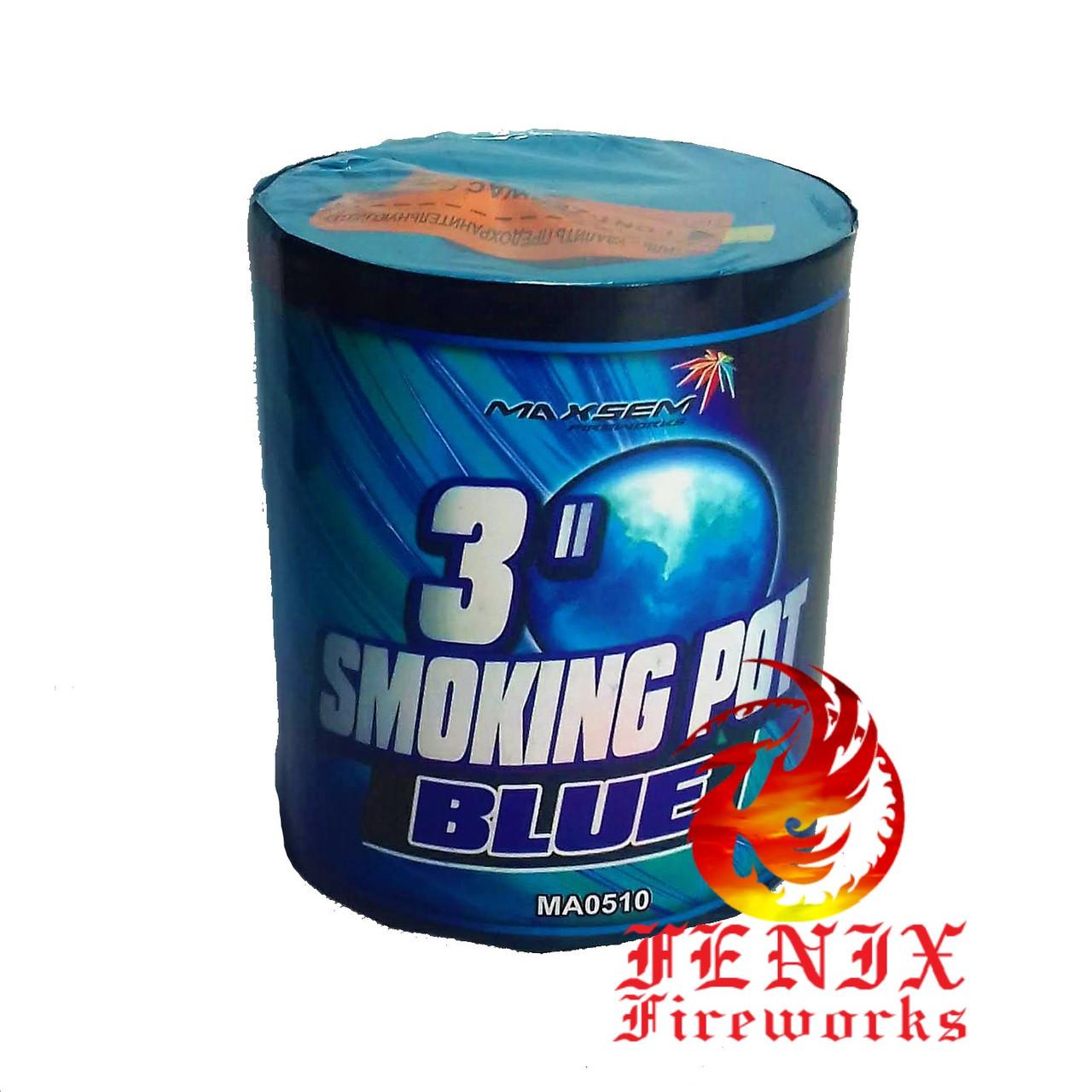 ЦВЕТНОЙ ДЫМ СИНИЙ ПРОФЕССИОНАЛЬНЫЙ Smoke Pot 60 секунд MA0510/B