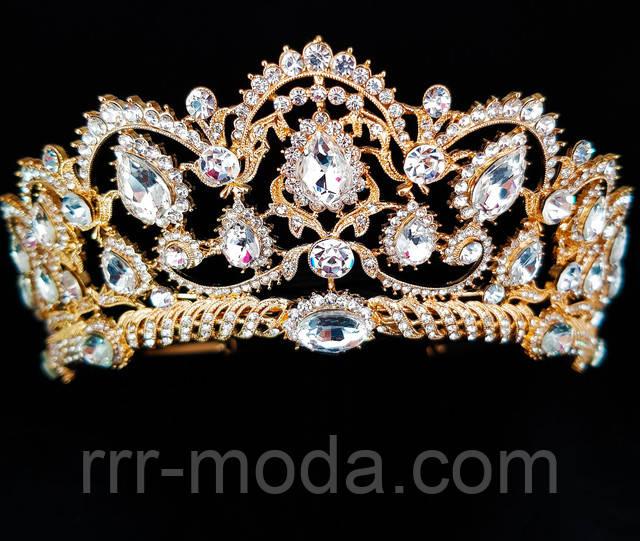 Бижутерия оптом RRR свадебные короны, тикка.