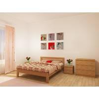 Ліжко Сміф Стандарт з натурального дерева