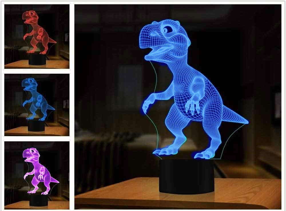 3D Светильник Динозавр (3 режима)